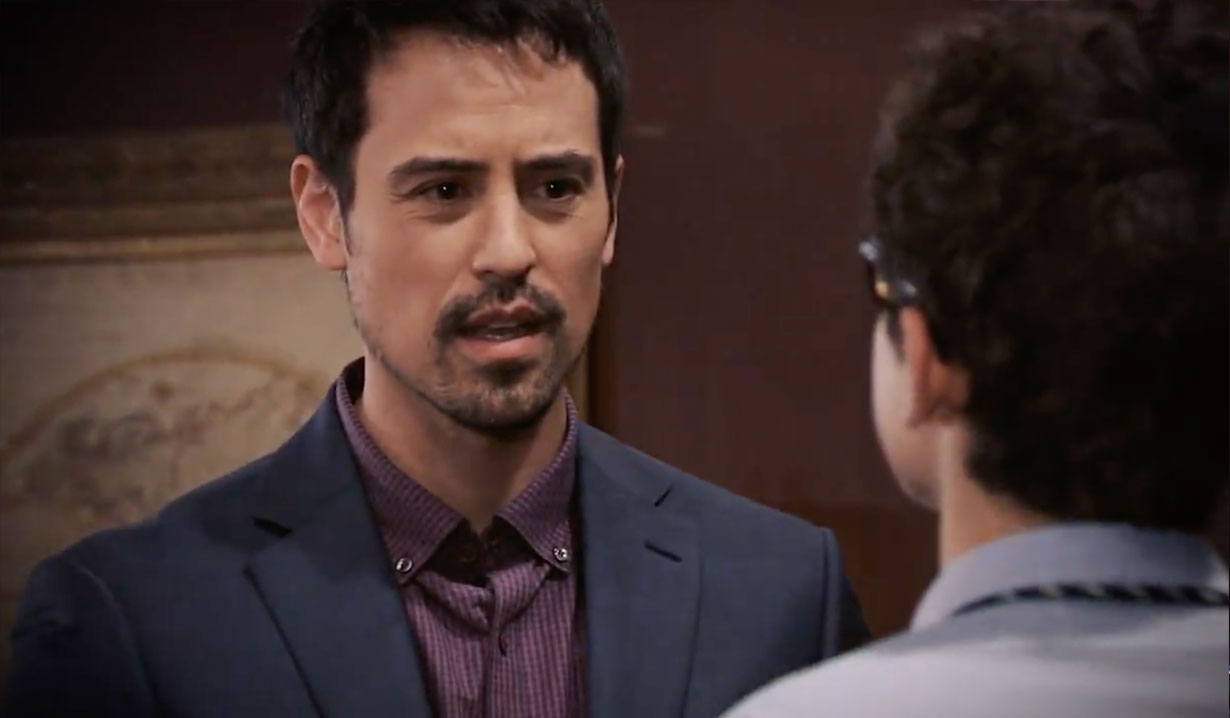 Nikolas and Spencer reunion on General Hospital