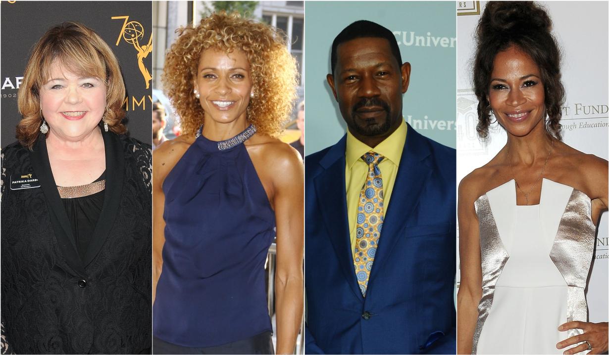 Patrika Darbo, Michelle Hurd, Dennis Haysbert and Sherri Saum in primetime and streaming series