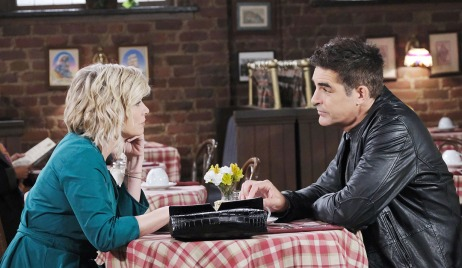 Rafe and Kayla wonder what's up with hope days of our lives