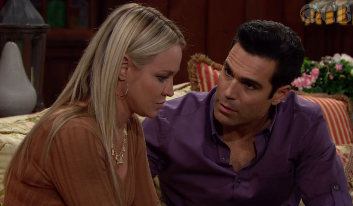 rey promises to be there for sharon breast cancer young and restless