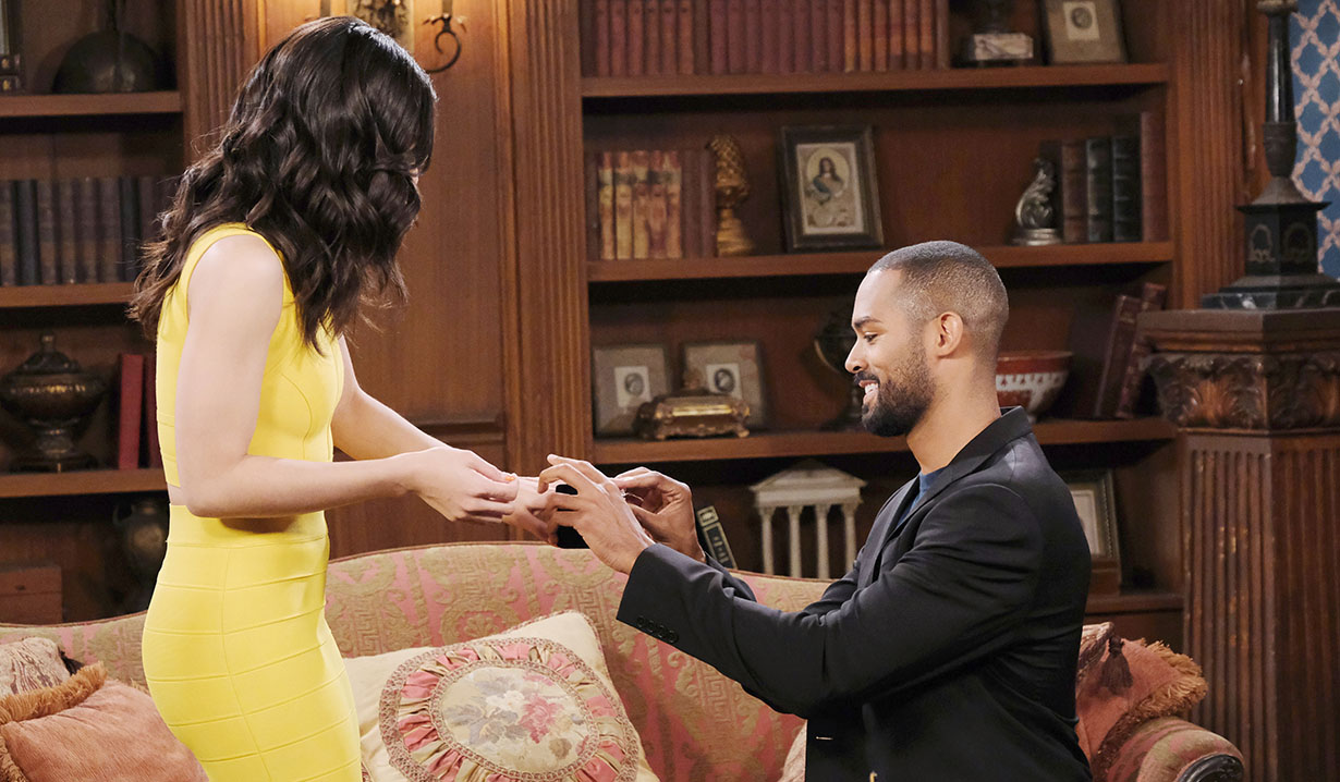eli gives gabi a ring days of our lives