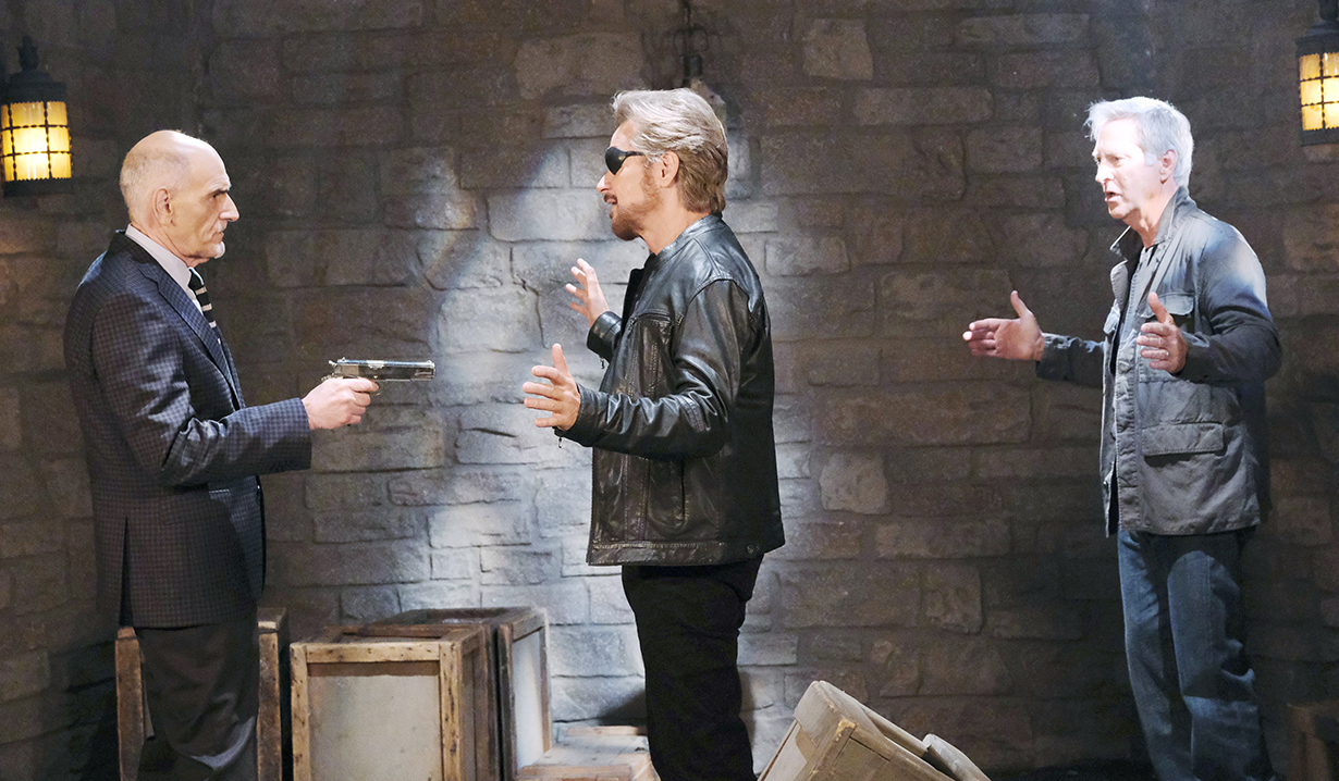 rolf, stefano and john on days of our lives
