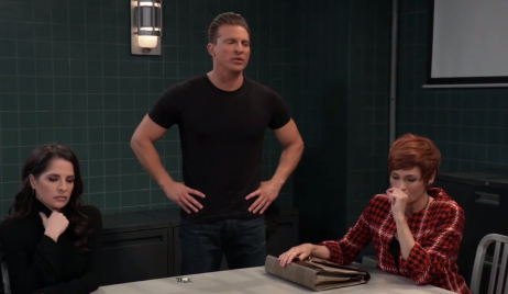 Sam, Jason and Diane offer up Peter to Robert on General Hospital