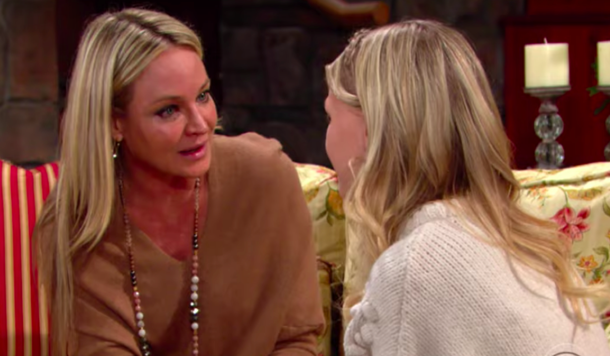 Sharon reassures Faith over her cancer diagnosis on Young and Restless