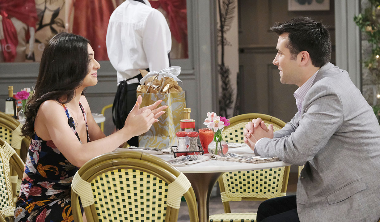 gabi lunches with sonny days of our lives