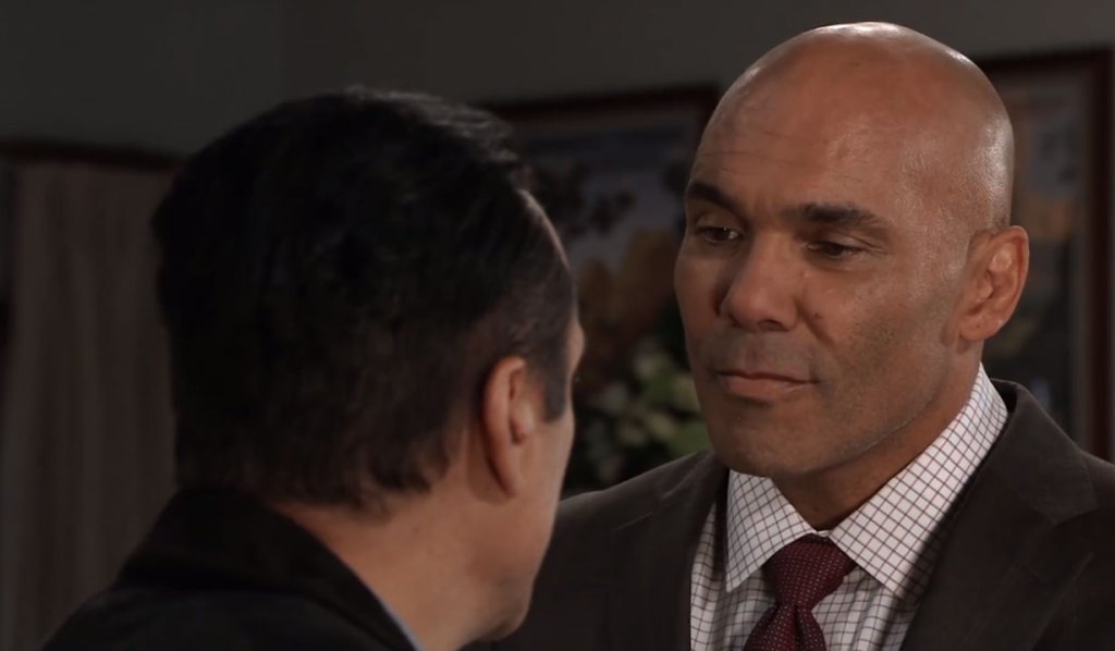 sonny wonders why Taggert is back general hospital
