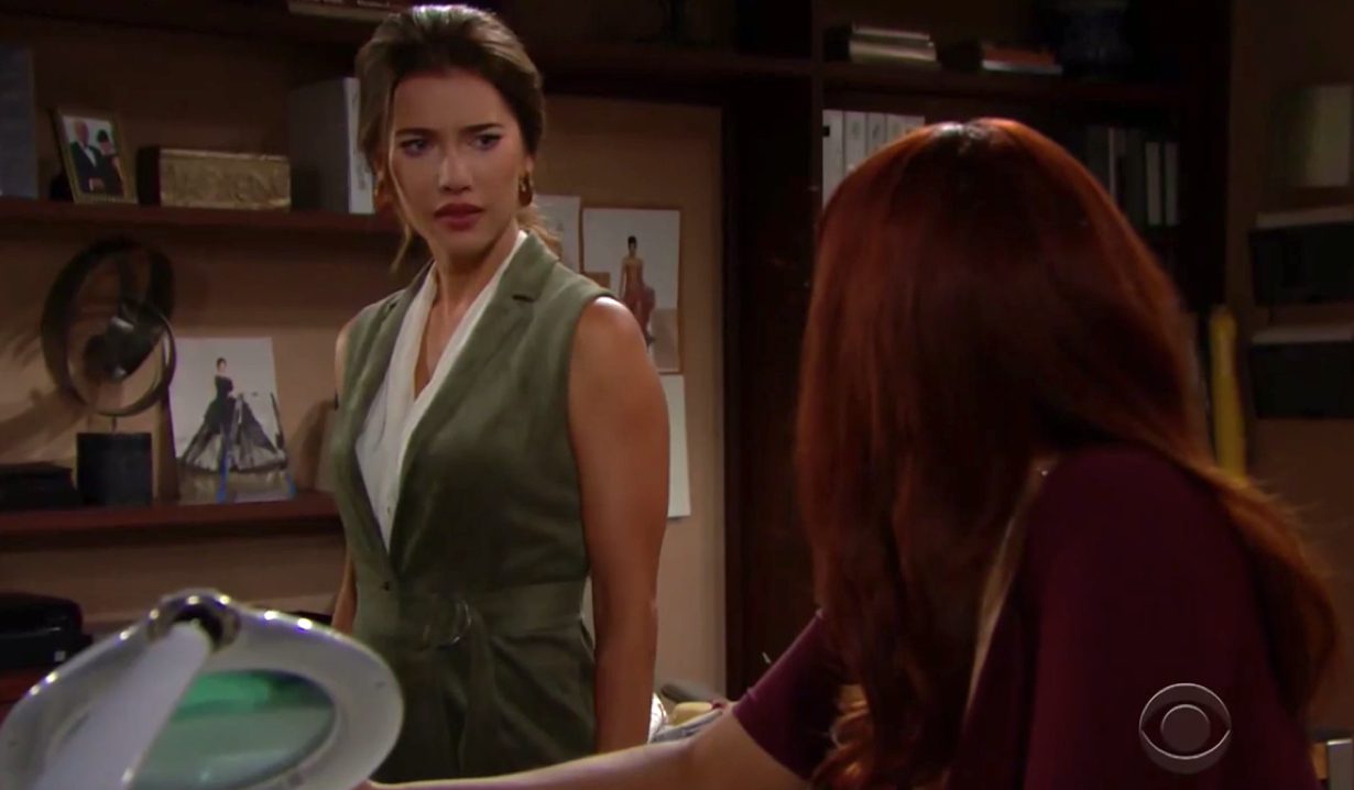 Steffy si preoccupa per Sally in The Bold and the Beautiful