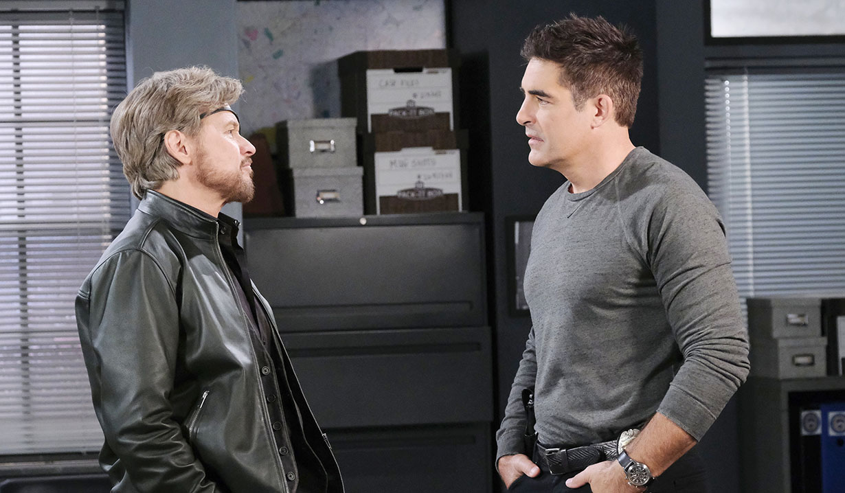 Rafe and Stevano at spd days of our lives
