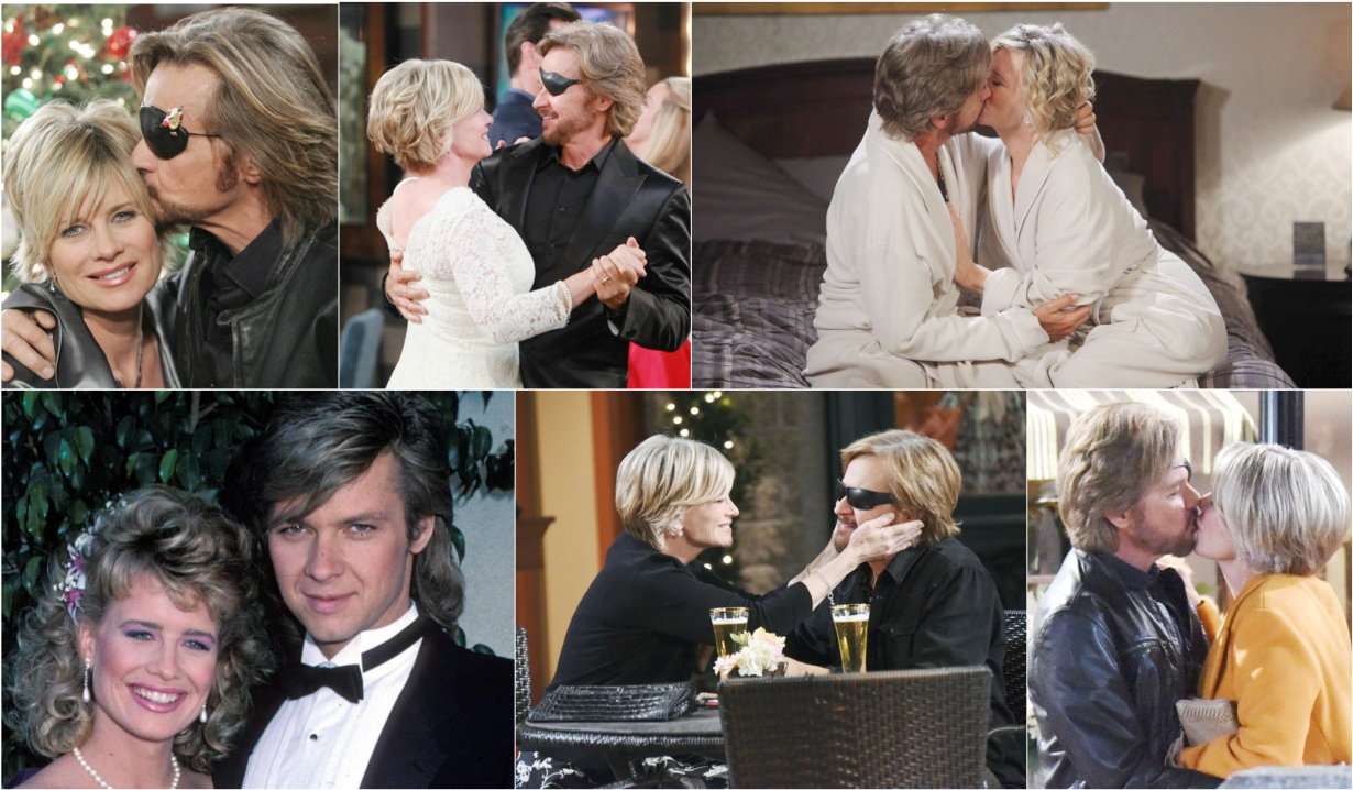Reliving Kayla and Steve's love story on Days of our Lives