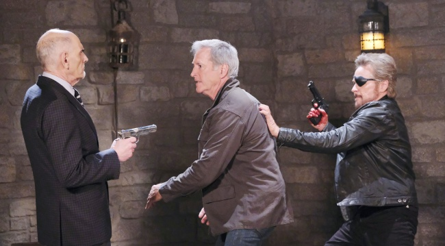 rolf returns and there's a shooting days of our lives