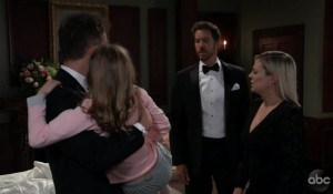 Peter and Maxie stop Valentin from taking Charlotte on General Hospital