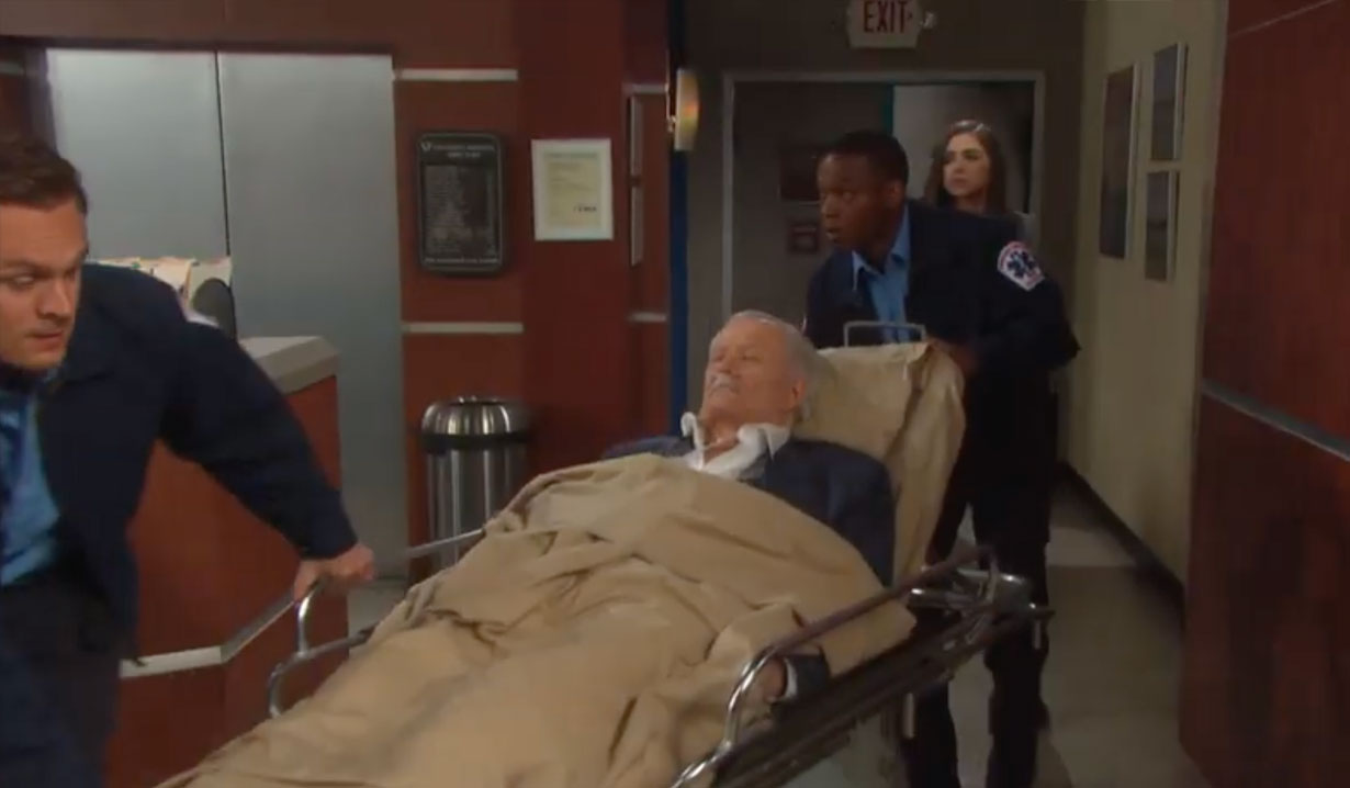Victor is rushed to the hospital on Days of our Lives