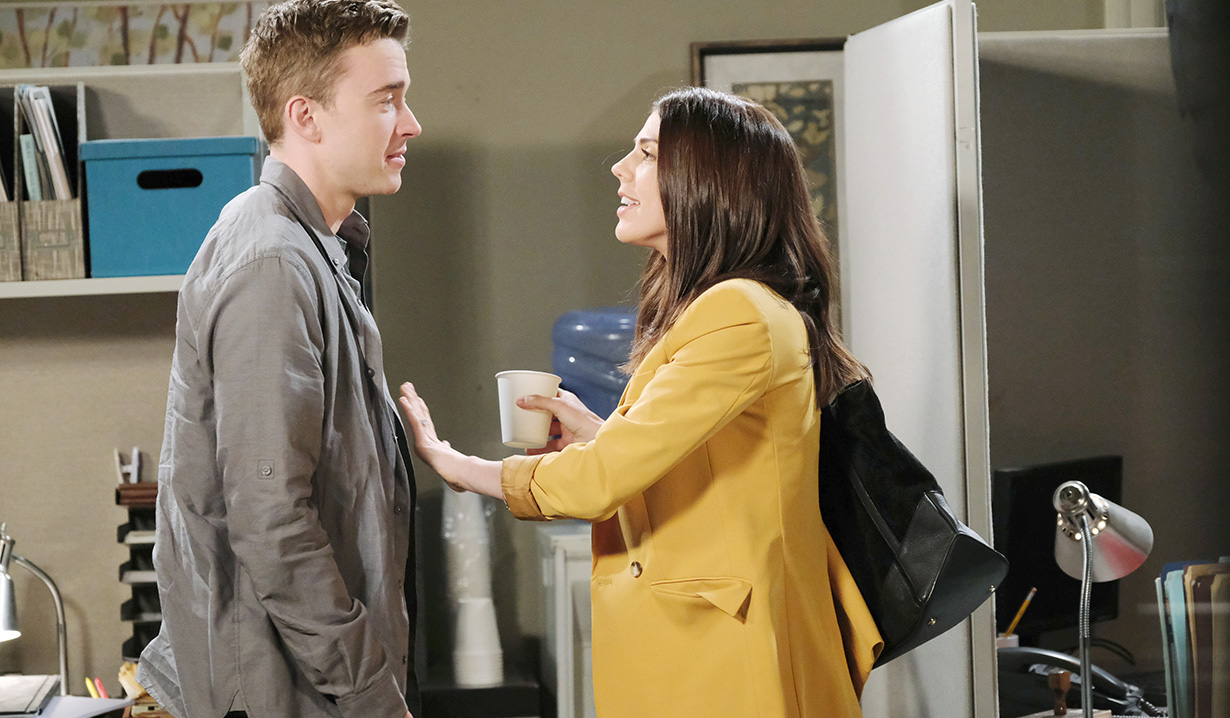 will and abby at the spectator days of our lives