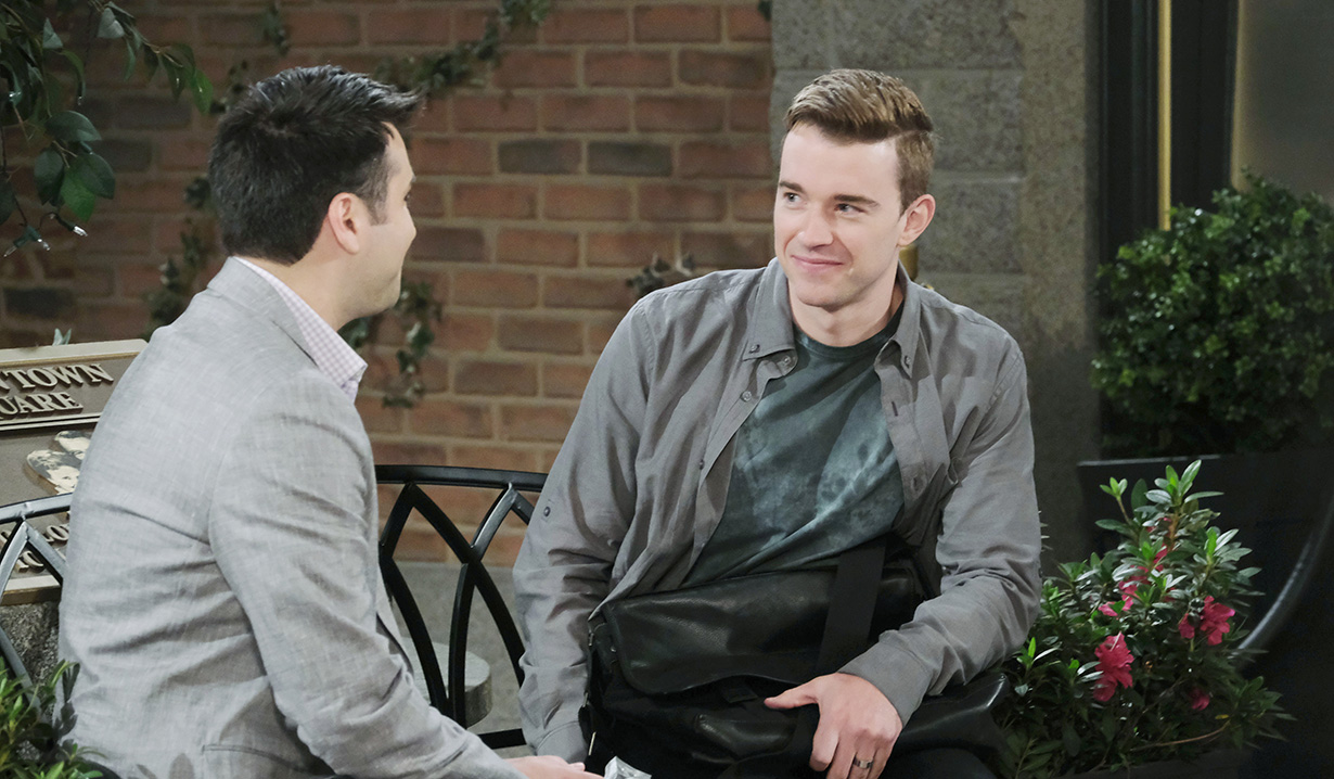 will and sonny discuss their love days of our lives