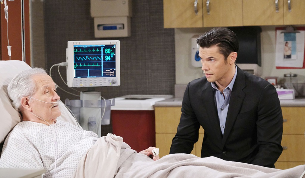 victor and xander hospital days of our lives