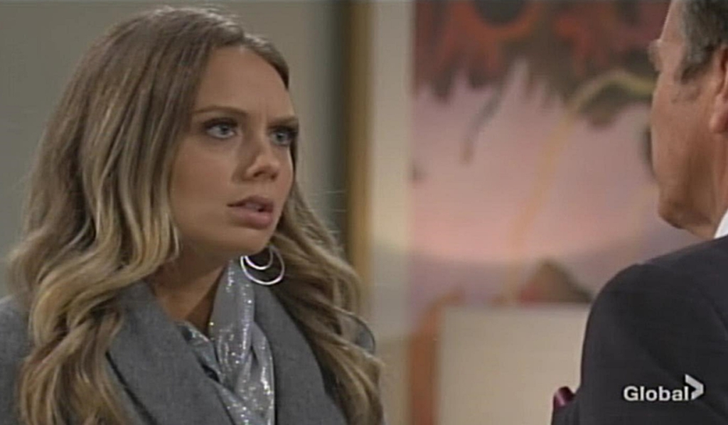 Abby dismay Young and Restless