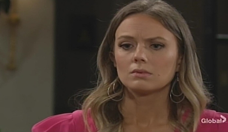 Abby food for thought Young and Restless