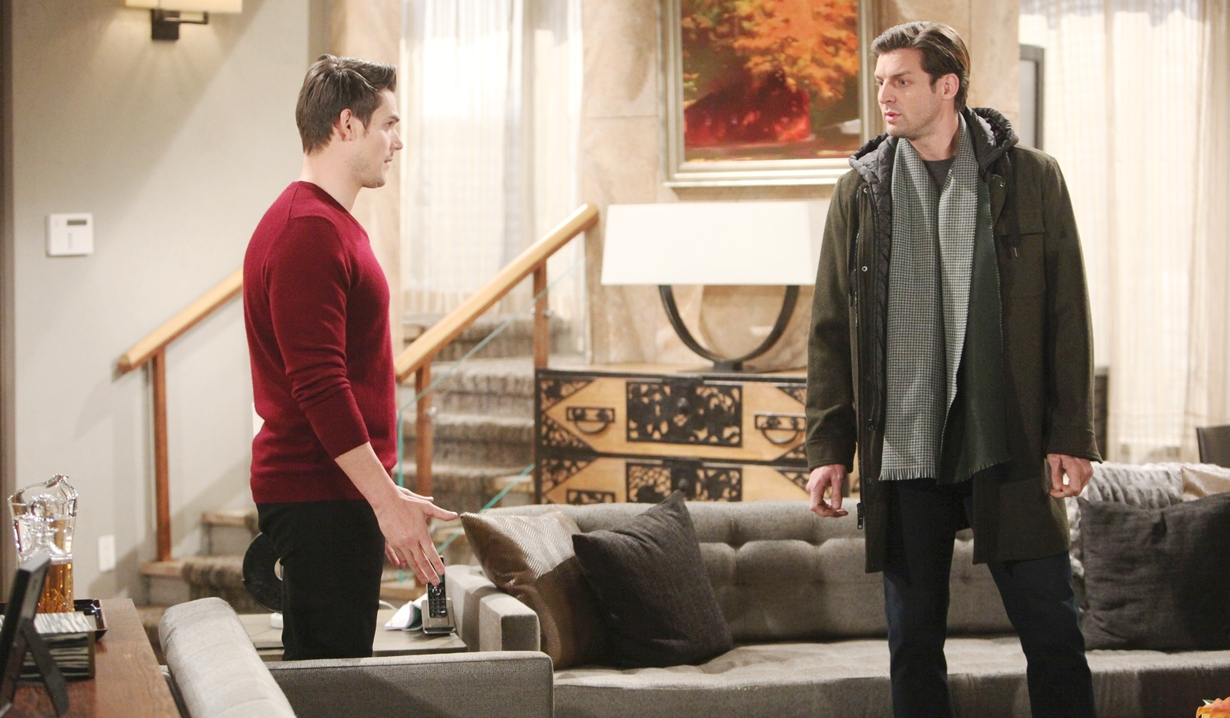 Adam, Chance conversation Young and Restless
