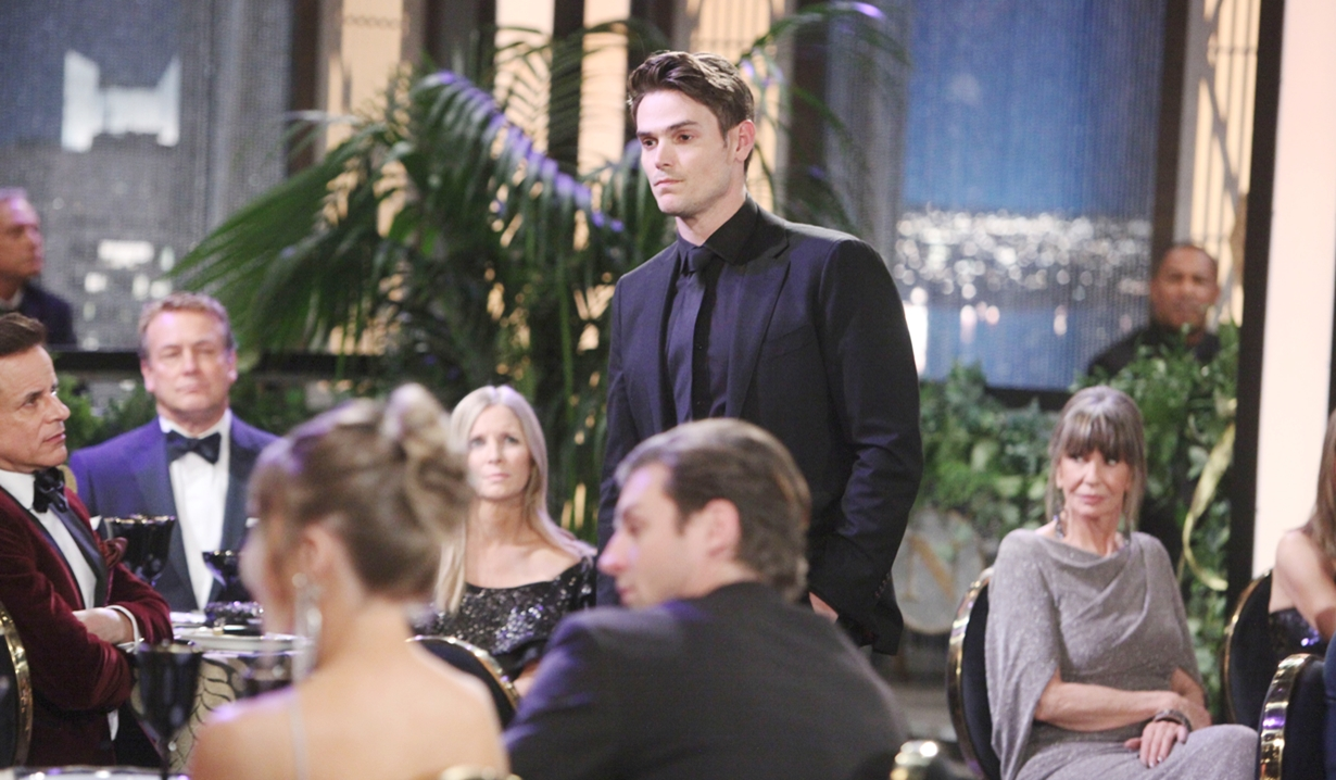 Adam speech gala Young and Restless