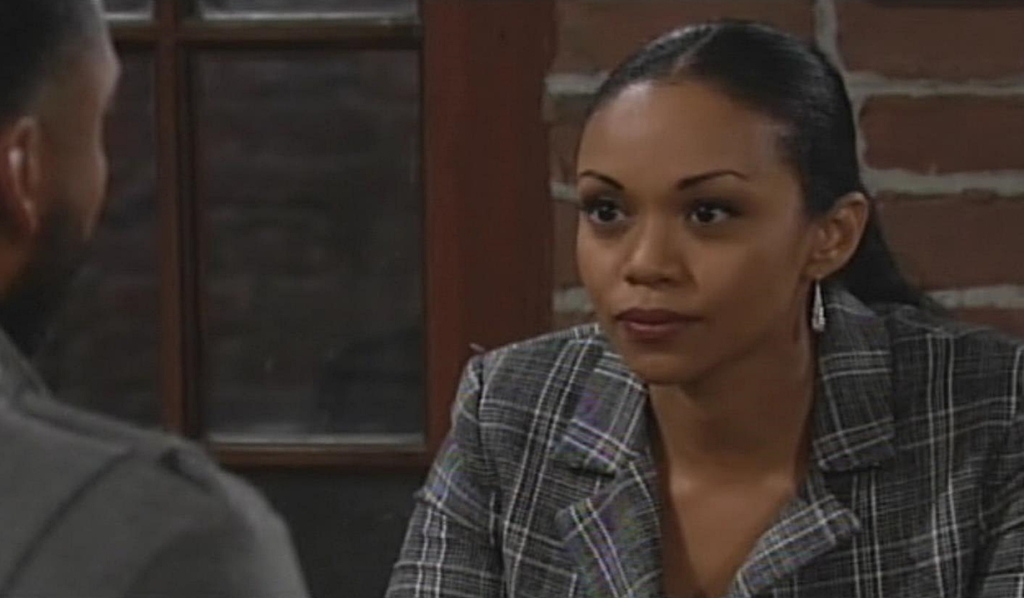 Amanda turn table Ripley Young and Restless