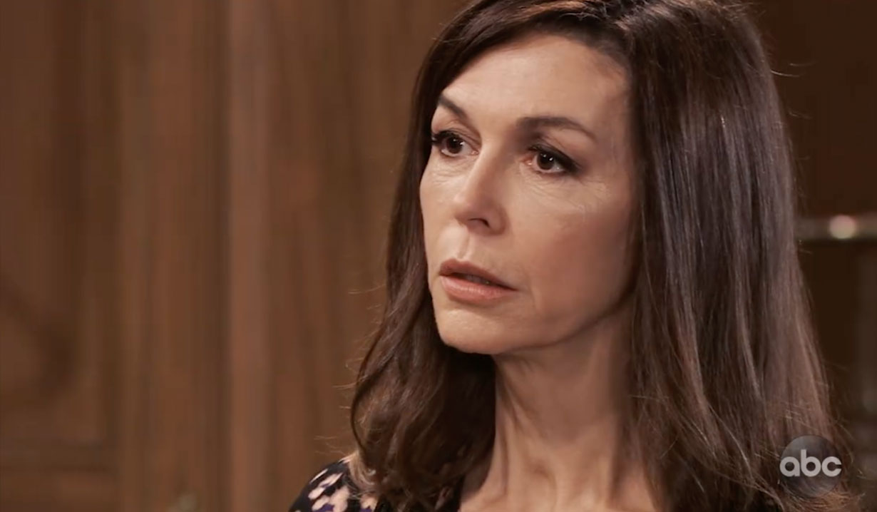 Anna protects Peter from Robert on General Hospital