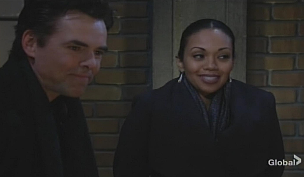 Billy, Amanda roof Young and Restless
