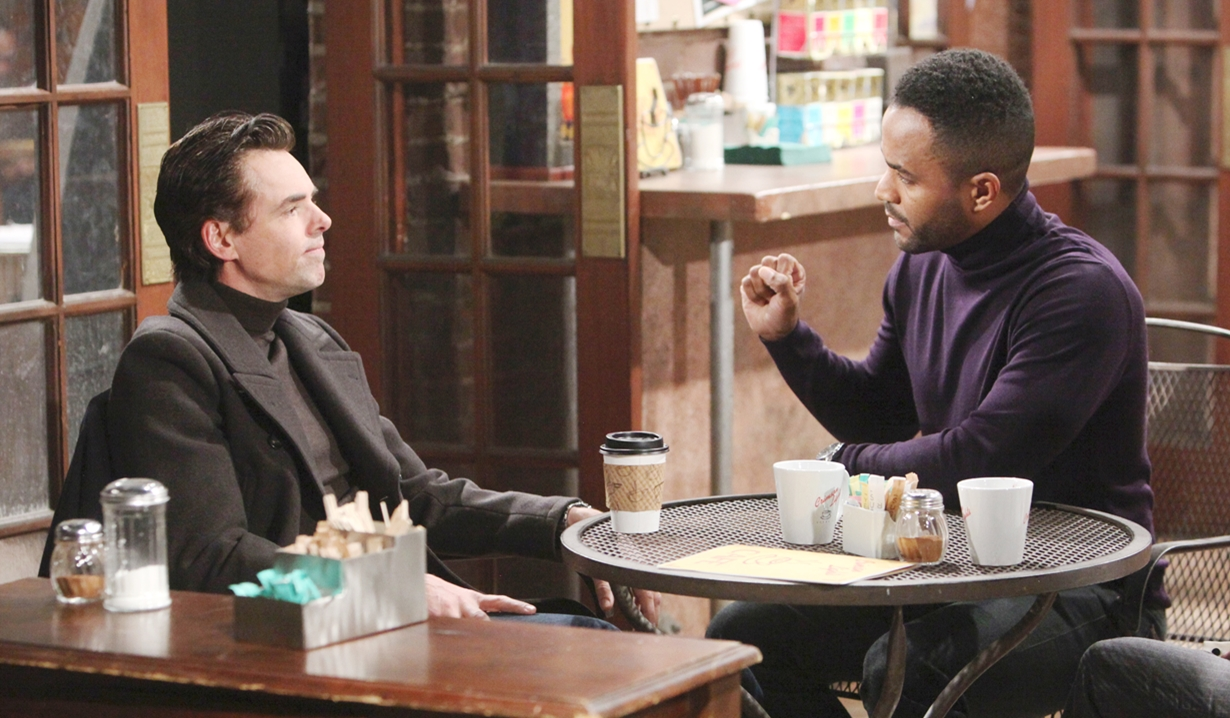 Billy, Nate check over Young and Restless
