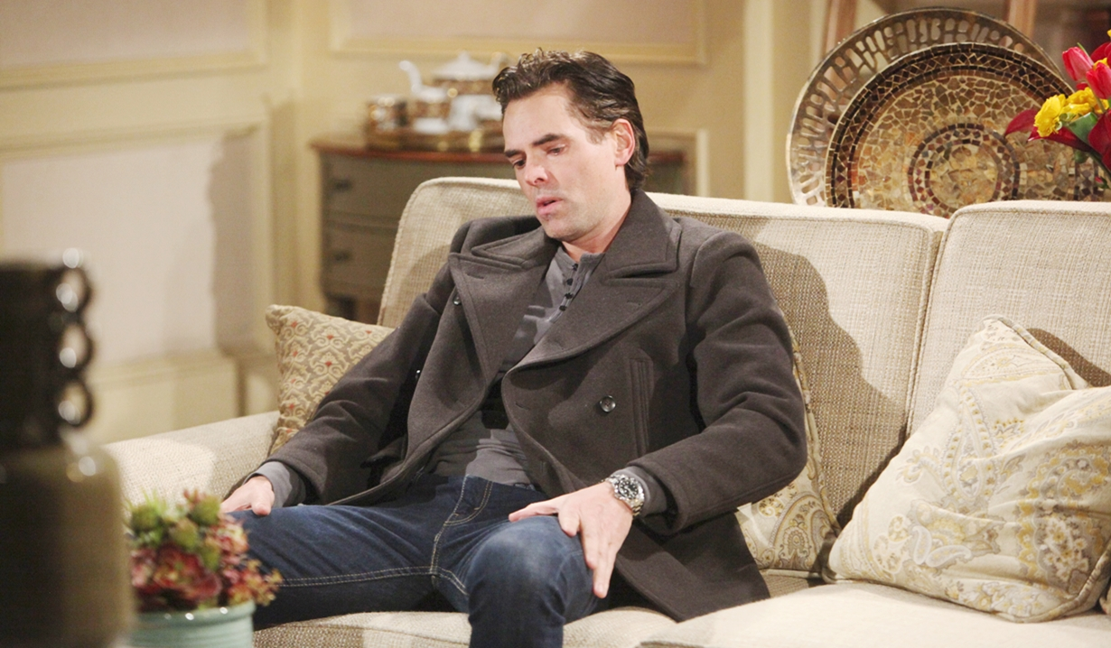 Billy despondent Young and Restless