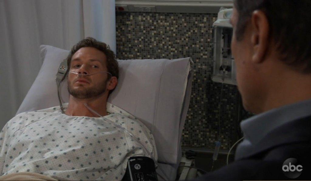 Sonny confronts Brandon on General Hospital
