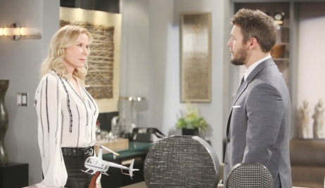 Brooke, Liam argue point Bold and Beautiful