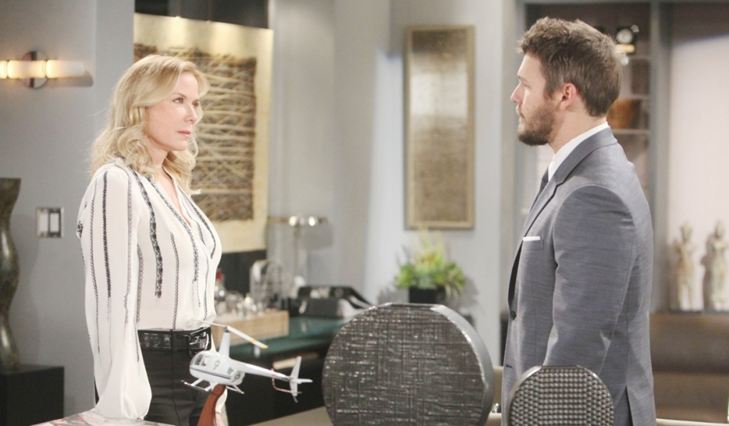 Brooke confronts Liam Bold and Beautiful