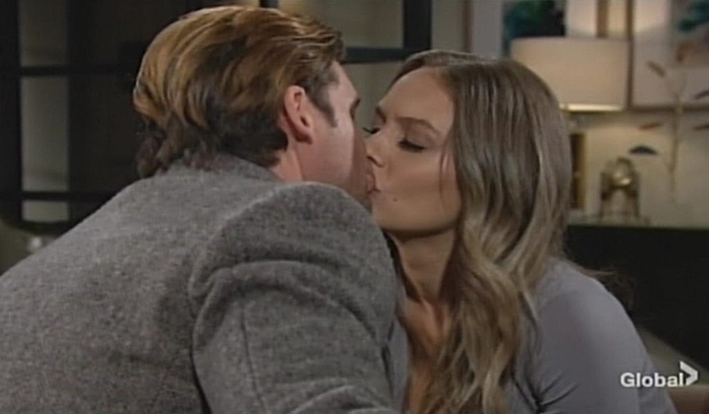 Chance, Abby kiss Young and Restless