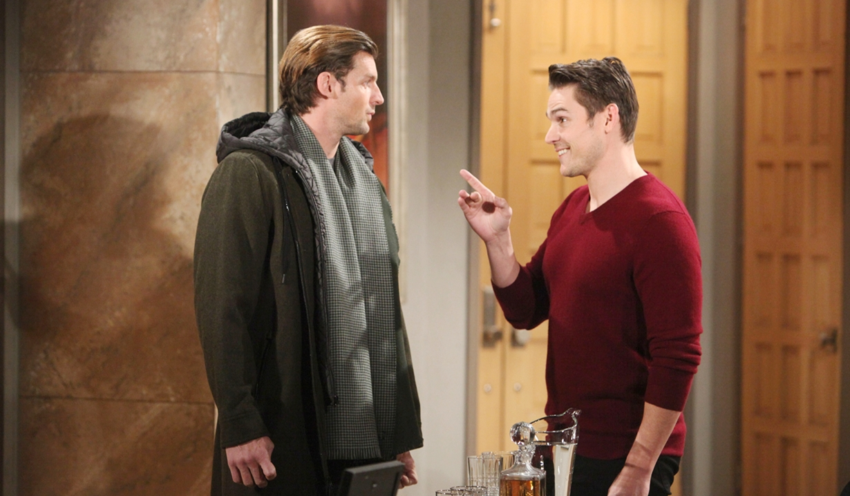 Chance, Adam grin Young and Restless