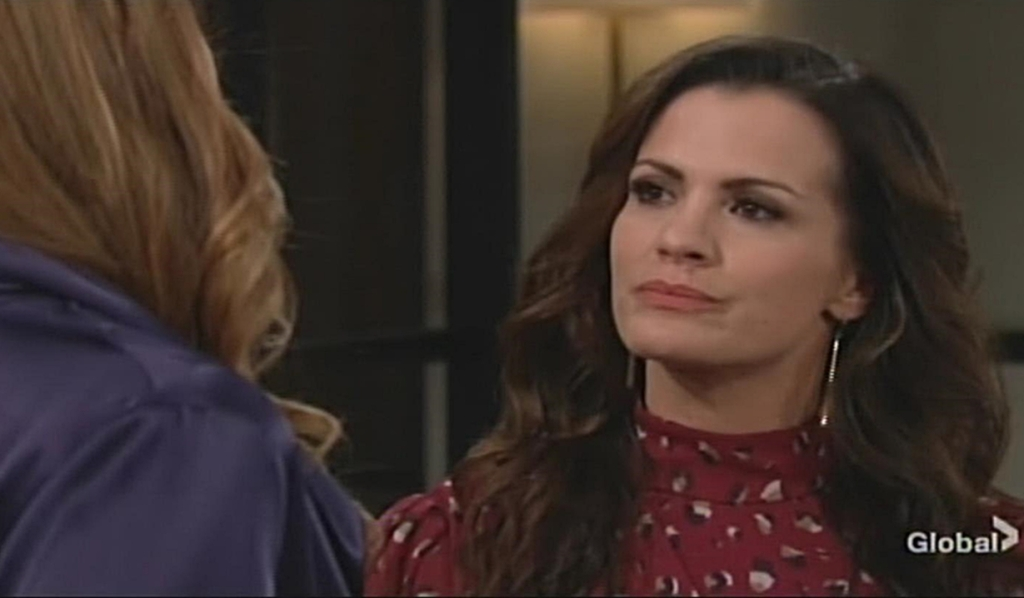 Phyllis confront Chelsea Young and Restless