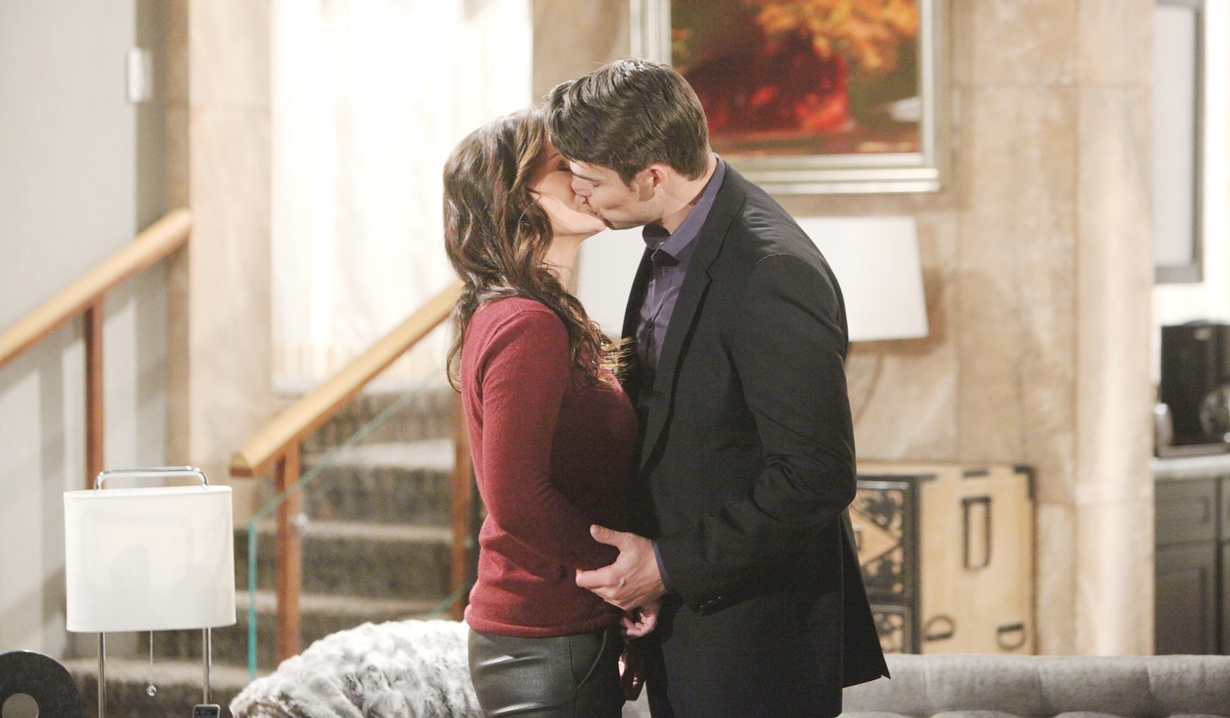 Cheslea kisses Adam Young and Restless