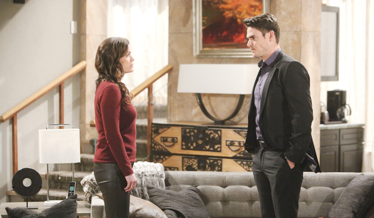 Chelsea questions Adam Young and Restless