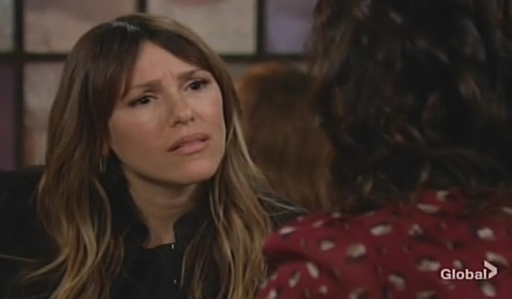 Chloe questions Chelsea Young and Restless