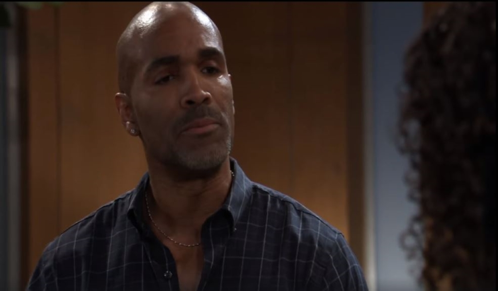 Curtis questions what Jordan is hiding in her office General Hospital