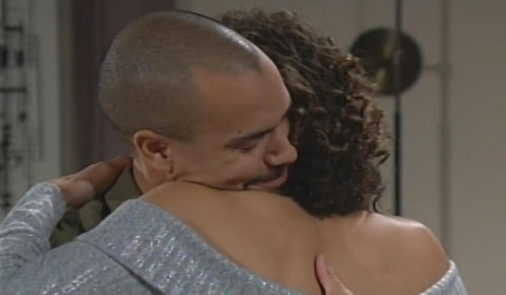 Devon embraces Elena Young and Restless