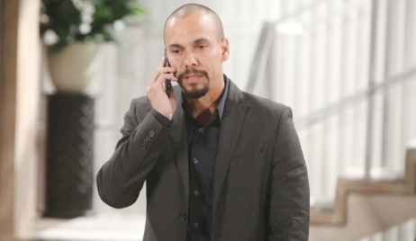 Devon phone call Young and Restless