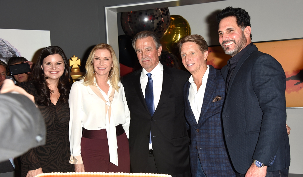 Eric Braeden, Bold and Beautiful cast members party Young and Restless