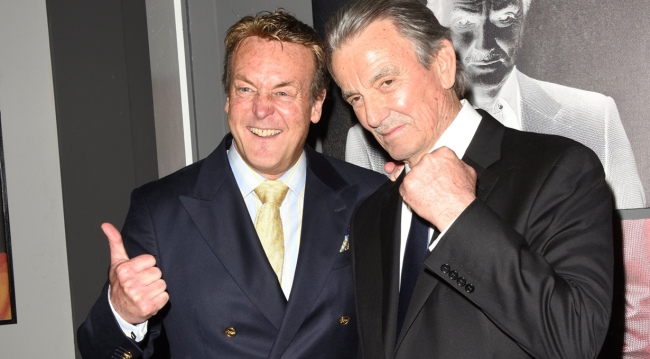 Eric Braeden, Doug Davidson, party Young and Restless