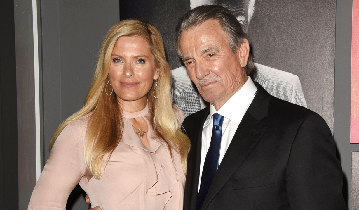 Eric Braeden, Brenda Epperson, party Young and Restless