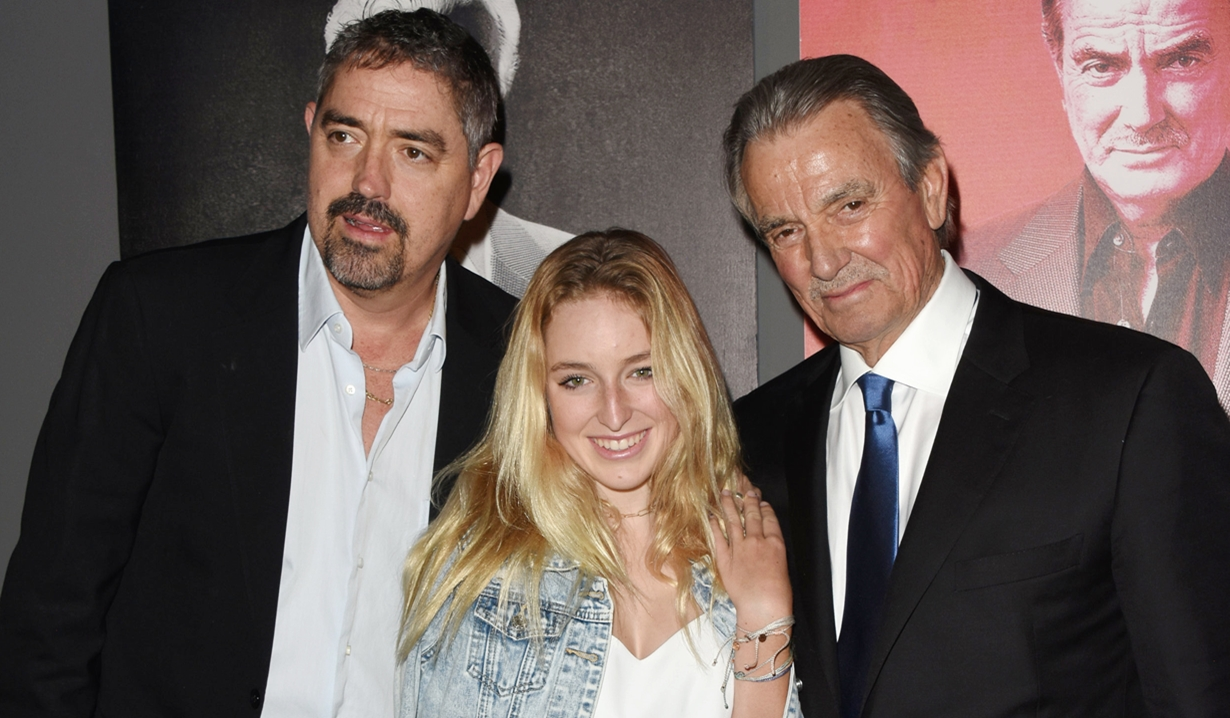 Eric Braeden, Christian Gudegast, Tatiana Gudegast, party Young and Restless