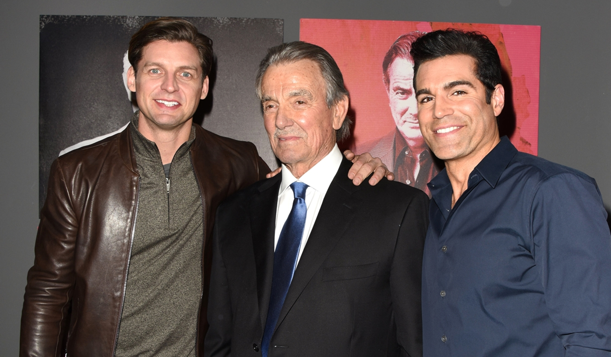 Eric Braeden, Donny Boaz, Jordi Vilasuso party Young and Restless