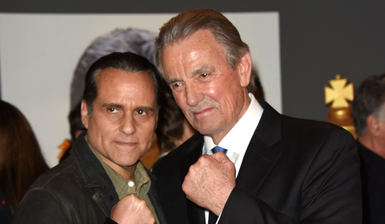 Eric Braeden, Maurice Benard party Young and Restless