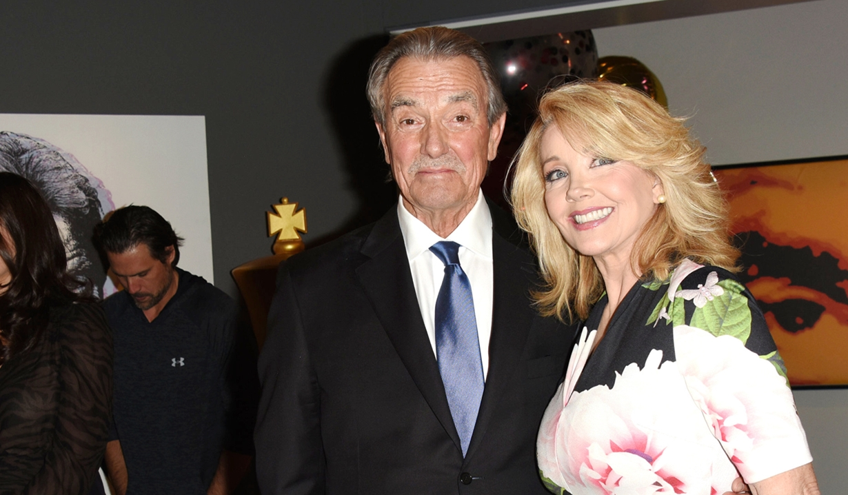 Eric Braeden, Melody Thomas Scott party Young and Restless