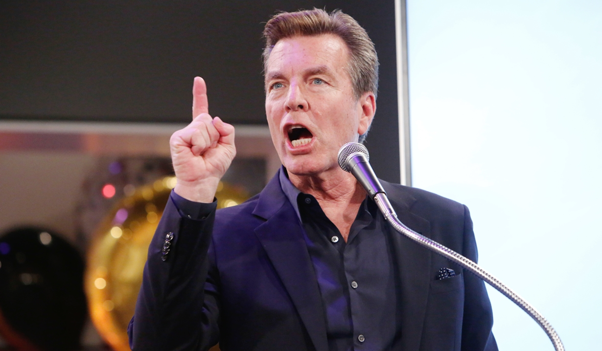 Peter Bergman talk party Young and Restless