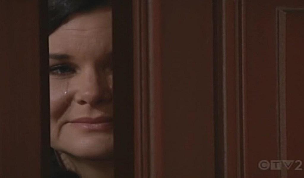 Katie cries door Bold and Beautiful