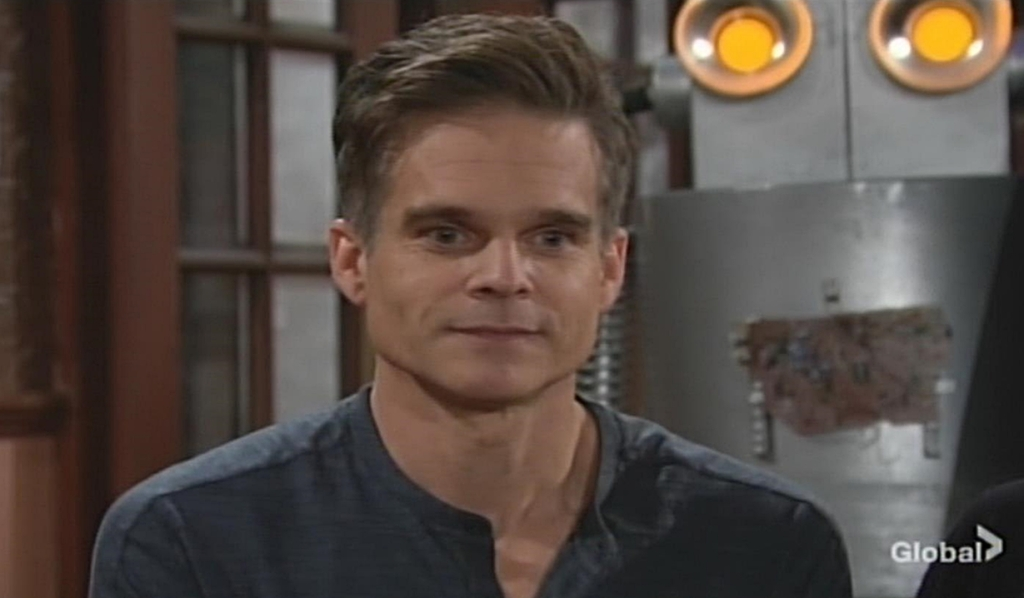 Kevin feigns innocence Young and Restless